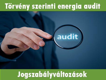 Törvény szerinti energia audit